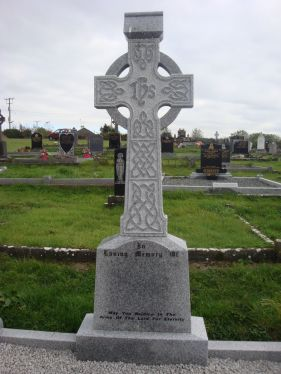 Gray celtic cross